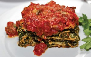 This Spinach and Mushroom Lasagna recipe is Ornish Lifestyle Medicine™ Approved and posted by Sentara Healthcare in Hampton Roads