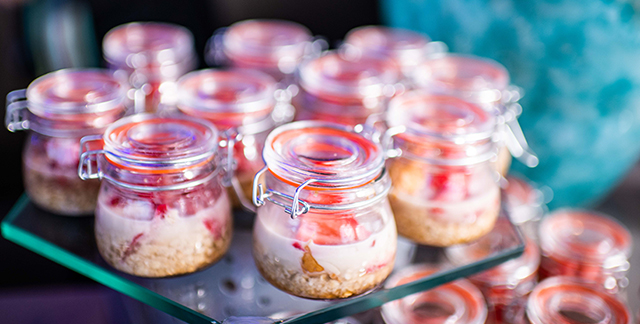 Mason Jar Oat recipe from Sentara Healthcare's Nutrition as Medicine 2019 event in Hampton Roads